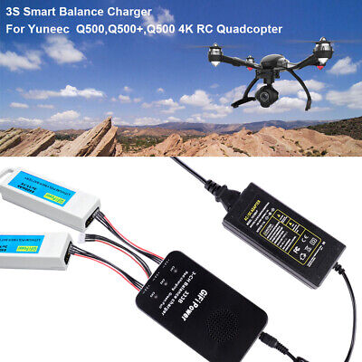 3S Clever Balance Battery Charger for Yuneec Q500,Q500+ ,Q500 4K RC Quadcopter
