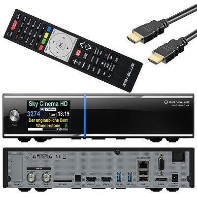 GigaBlue Quad 4K UHD SAT-Receiver 2x DVB-S2 FBC ULTRA HD IPTV E2 Linux HDTV online kaufen