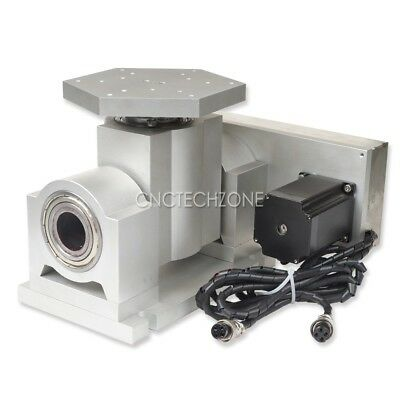 Cnc Router Machine Rotary Axis A Axis B Axis4th 5th Axis Cnc Rotary Table