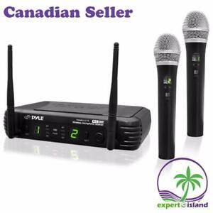 PylePro PDWM3375 Premier Series 8-Channel UHF Wireless Dual Handheld Microphone Selectable Frequencies (sale) Toronto (GTA) Preview