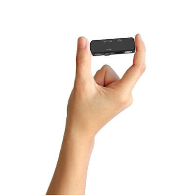 Spy Voice Activated Listening Device/Audio Bug 70hr Digital Recorder Easy Hide