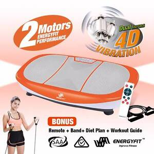 NEW Energyfit Vibration Machine Platform Body Shaper Exercise Melbourne CBD Melbourne City Preview