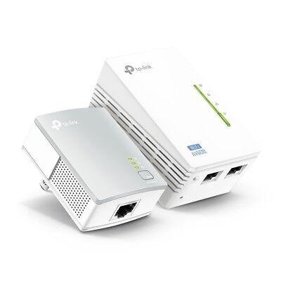 TP-Link TL-WPA4220KIT AV500 300Mbps Wireless Wi-Fi Powerline Range Extender Kit