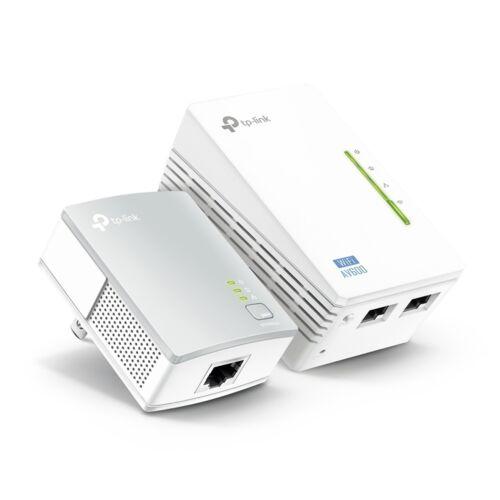 TP-Link TL-WPA4220 KIT AV600 600Mbps Powerline / 300Mbps WiFi Range Extender Kit