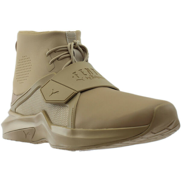 Puma Fenty by Rihanna The Trainer High  Casual   Sneakers - Beige - Mens 1