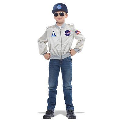 Kids NASA Flight Jacket Halloween Costume (Nasa Halloween)