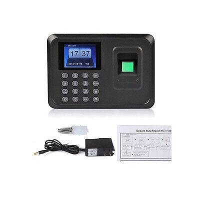 2.4 Lcd Usb Fingerprint Time Attendance Clocks Employee Payroll Recorder Punch