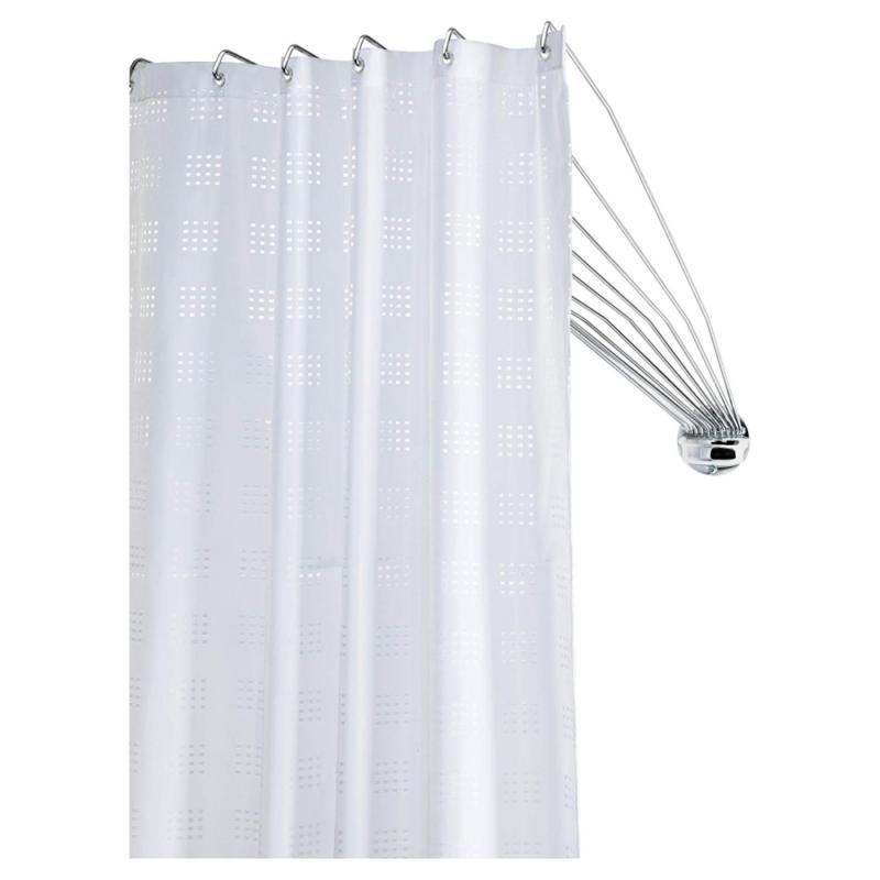 Sealskin Duschvorhangstange Umbrella - die flexible Duschfaltkabine, Duschspinne