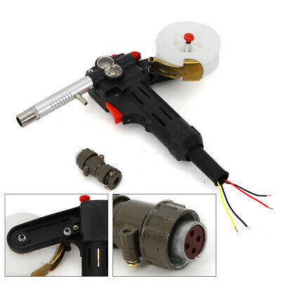 Mig Welding Spool Gun Push Pull Feeder Aluminum Welding Torch For High Welding