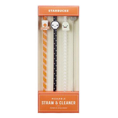 Starbucks Korea Halloween straw set 2020 Halloween Limited