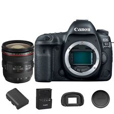 Canon EOS 5D Mark IV 30.4MP Digital SLR Camera w/ EF 24-70mm f/4L Lens Kit
