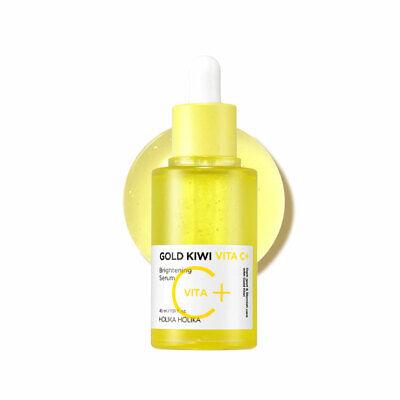 [Holika Holika] Gold Kiwi Vita C+ Brightening Serum - 45ml / Free Gift