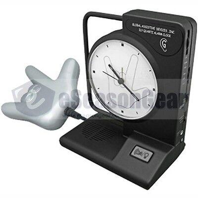ILY-450 + LY45, Alarm Clock + Vibrating Bed shaker 120V Sonic/Alert/Bomb