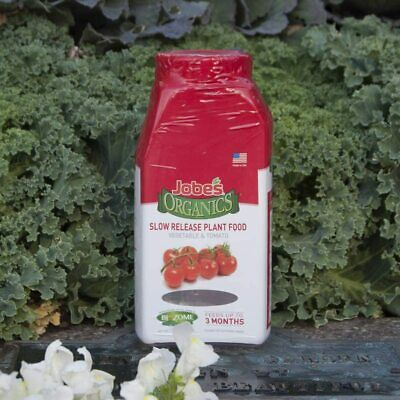 Jobe's Organic Slow Release Plant Food Fertilizer for Garden, Vegetables, Tomato Organic Plant Fertilizers