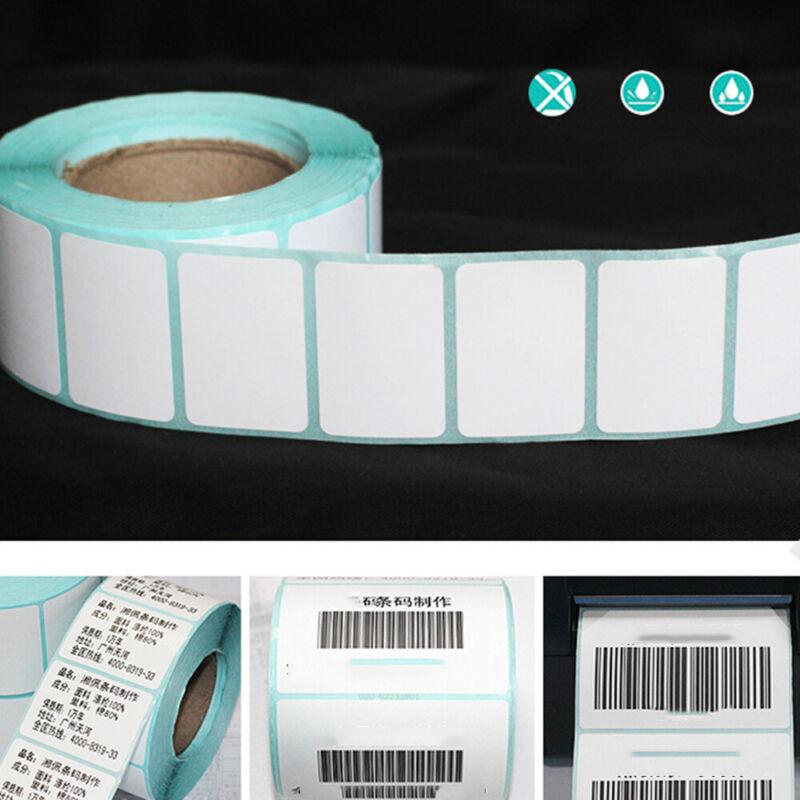 Supplies Blank Tag Package Label Waterproof Thermal Sticker