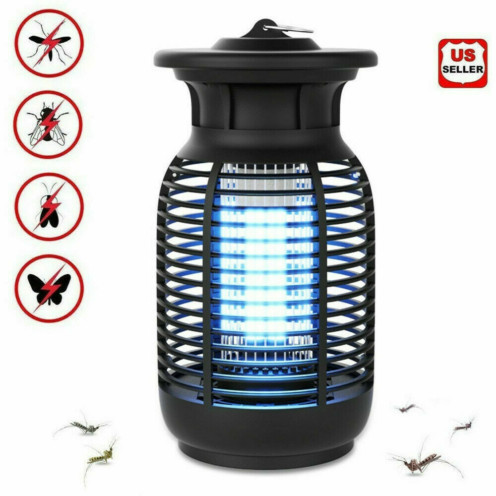 Mosquito Fly Bug Insect Zapper Killer Indoor Outdoor Electronic LED Trap Lamp15W Home & Garden