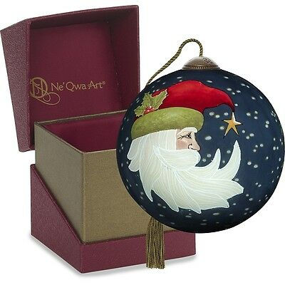 Joyeux Noel NeQwa Art Hand Painted Ornament 7171115