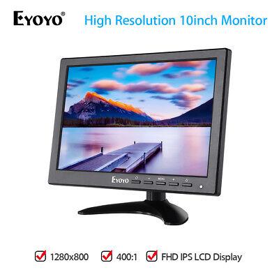 EYOYO 1280 X 800 10 IPS HDMI VGA VIDEO MONITOR BILDSCHIRM F R PC DVD KAMERA