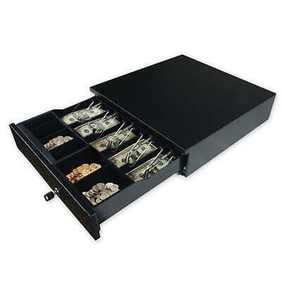 5 Bill 5 Coin Cash Register Drawer Compatible Epsonstar Pos Printers Keys New