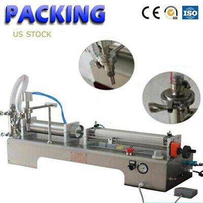 100-1000ml Bottle Filling Machine Liquid Wine Milk Quantitative Filer 3.4-34oz