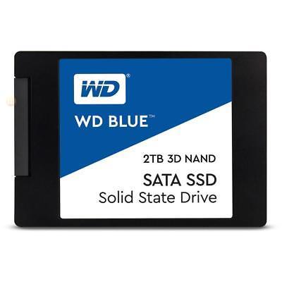 Western Digital SSD 2TB SATA III 6Gb/s 7mm 3D NAND Blue