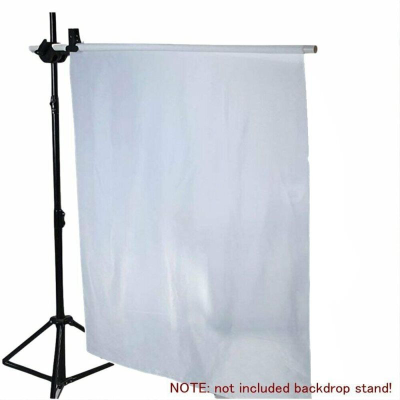39X67Inch Diffusion Fabric Nylon White Seamless for Photography Softbox Lighting