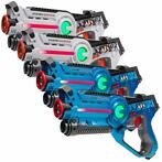 Light Battle Active Lasergame Set - Wit/Blauw - 4 Pack