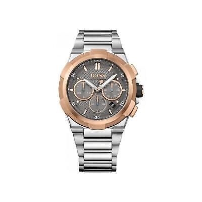 New Hugo Boss Men's Supernova Stainless Steel Watch HB1513362