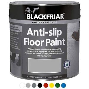 Blackfriar 1L Anti Slip Floor Paint Light Grey - 1 Litre