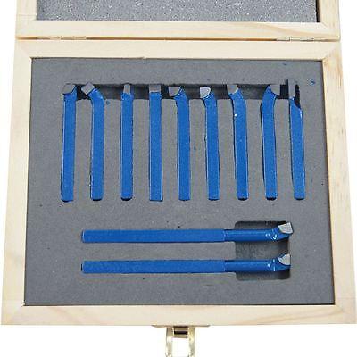11011806 Lathe 11Pc Engineer Boring Milling Cutting Turning Tool Set 6MM