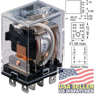 Omron Ly Series General Purpose Relay Dpdt 2 Form C