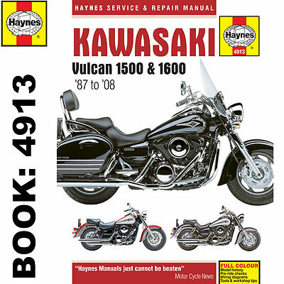 Kawasaki Vulcan VN1500 VN1600 1987-2008 Haynes Workshop Manual