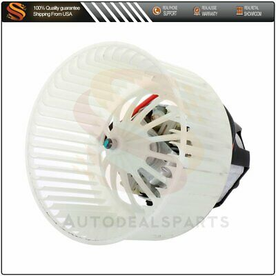 Fits BMW  750i/550i Heater A/C Blower Motor with Fan Cage 700294 64119242607