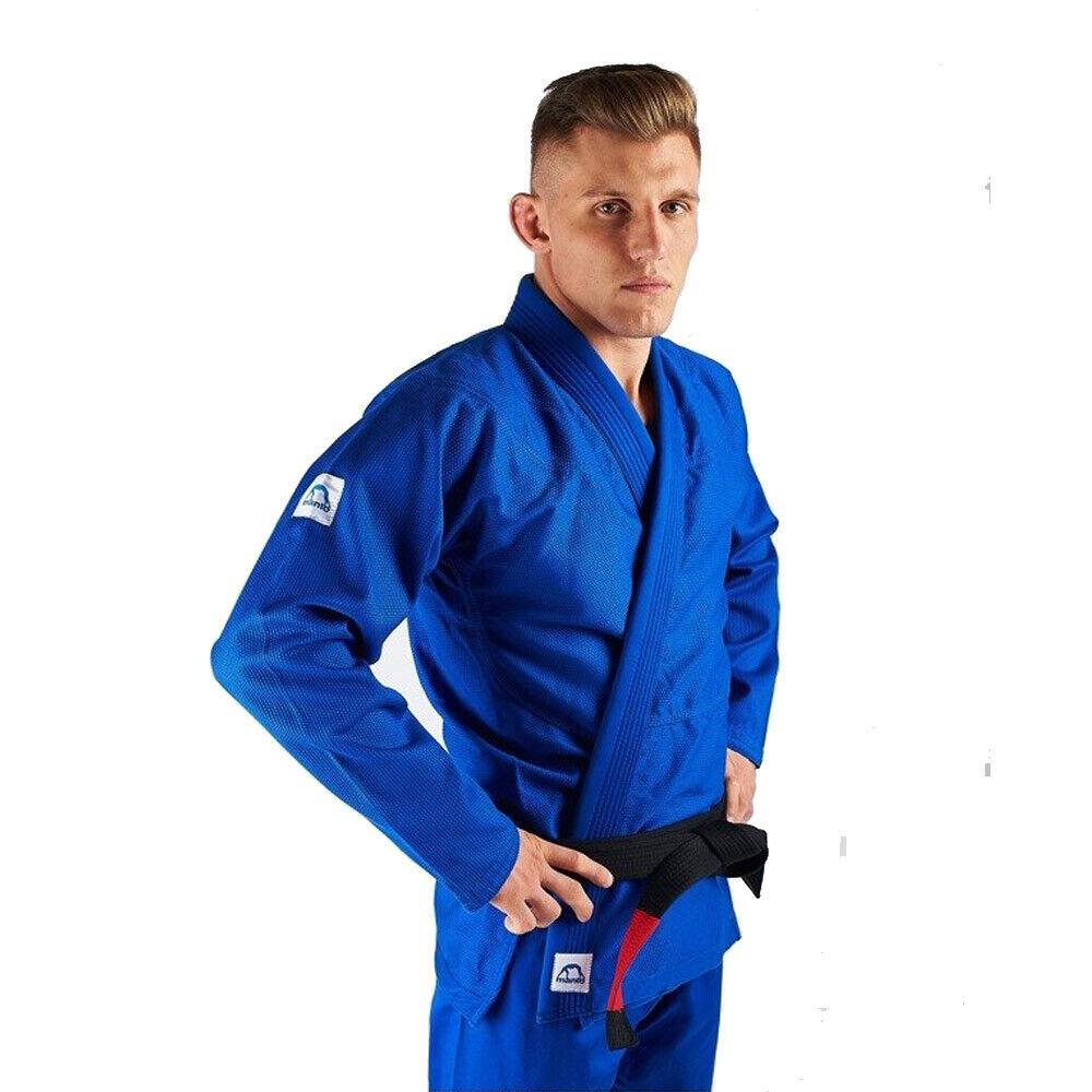 Manto BJJ Gi X3 Blue Brazilian Jiu Jitsu BJJ Gi Uniform Kimono
