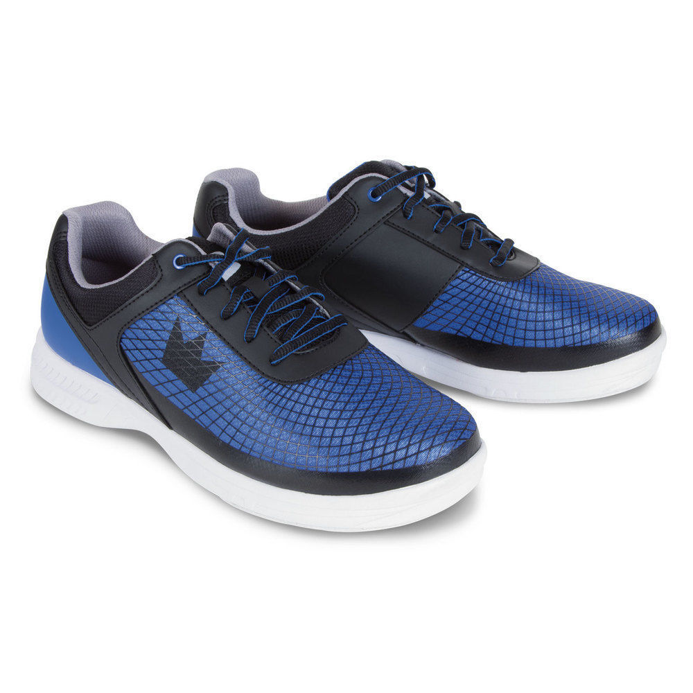 Купить Mens Brunswick FRENZY Bowling Shoes Royal Black Sizes 7 на ... 62a6d484c34