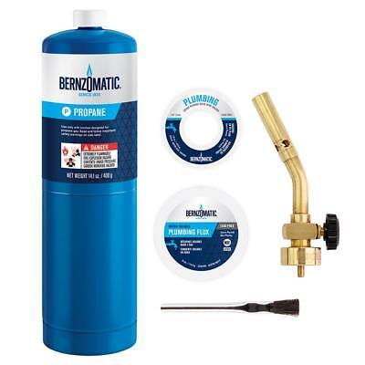 Bernzomatic 5-piece Pk1001 Brass Pencil Flame Plumbing Torch Kit