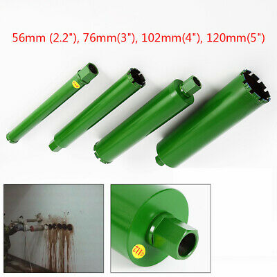 4pcs Premium Wet Diamond Core Drill Bit Green 2.2345 Set For Concrete