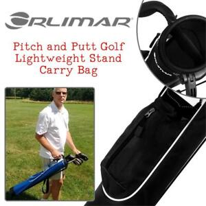 NEW Orlimar K99545 Pitch and Putt Golf Lightweight Stand Carry Bag, Black Condition: New