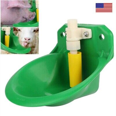 Automatic Water Feeder Bowl Cattle Goat Sheep Dog Farm Animal Water Drinker Tool