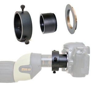 Canon EOS EF adapter for Nikon Fieldscope Spotting Scope EDG Wide DS eyepieces