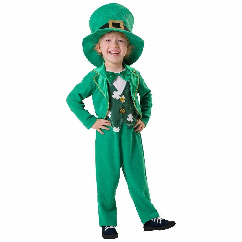Spritz Boys' St. Patrick's Day Leprechaun Costume – 2-3T Boys