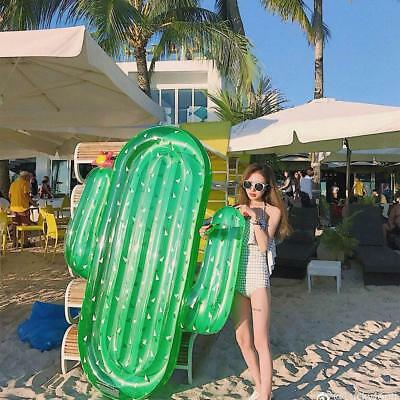 Large Inflatable Cactus Pool Float Raft Outdoor Swimming Pool Float Party Adult