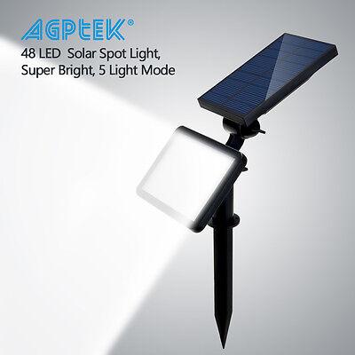 48LED Solar Power Spotlight Garden Lawn Lamp Landscape Lights Outdoor Waterproof (Solar Landscape Spotlight)