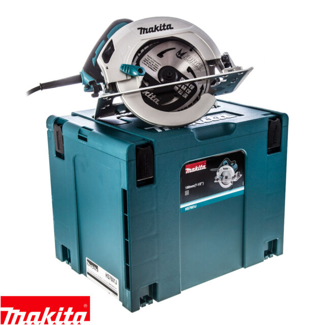 Makita HS7601J Circular Saw 190mm in MakPac Carry Case 240V