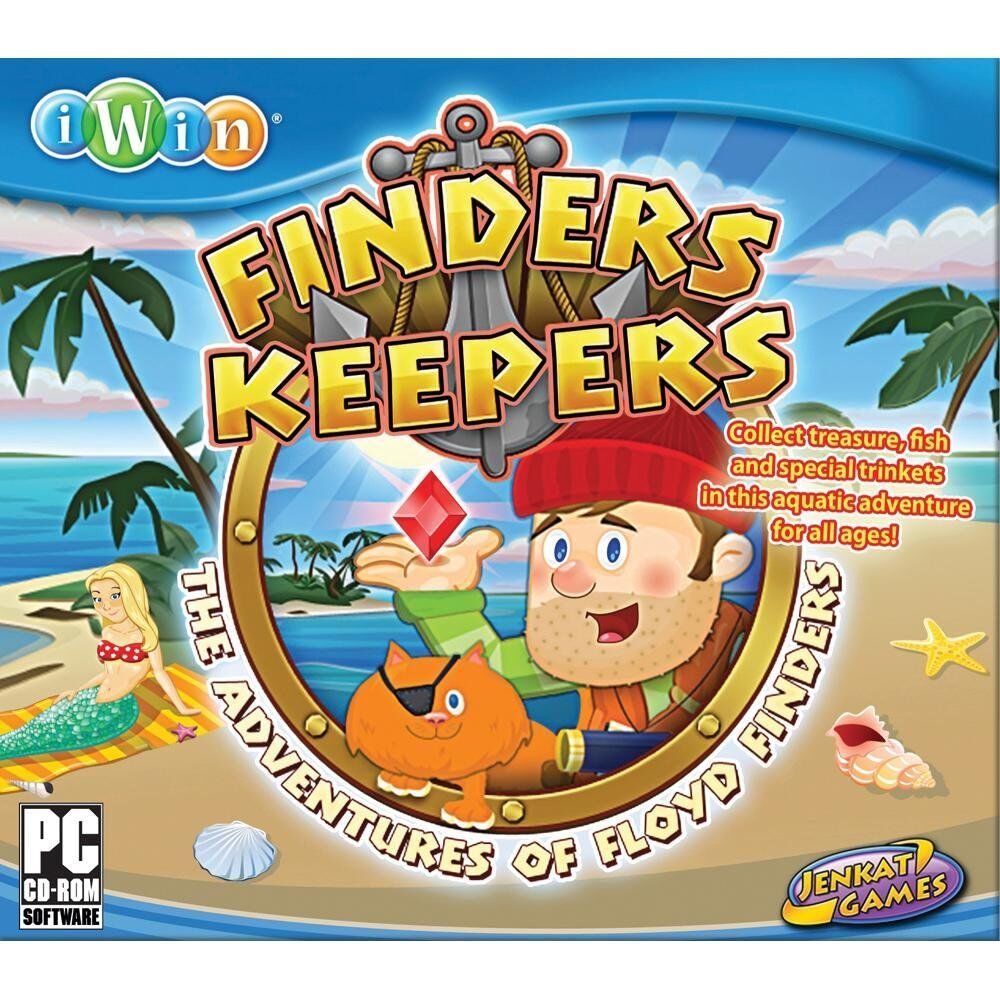 Computer Games - Finders Keepers PC Games Windows 10 8 7 XP Computer arcade puzzle NEW