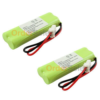2x Home Phone Battery for VTech BT183482 BT283482 DS6401 DS6421 DS6422 200+SOLD