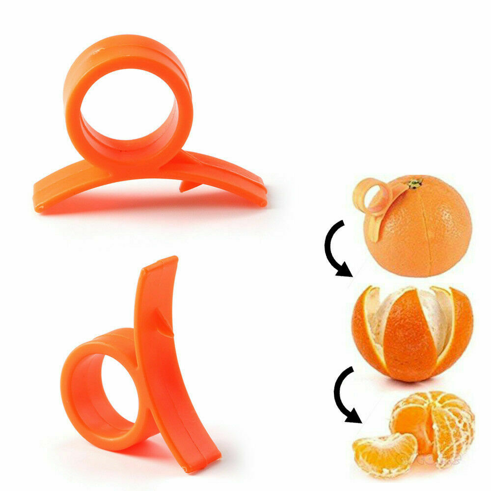 Orange Citrus Peelers  Lemon Lime Tangerine Grapefruit - Kit