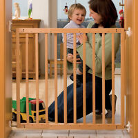 Babies R Us Wooden Extending Gate Baby Stair Safety Barrier, Born Essentials - babies,r,us - ebay.co.uk