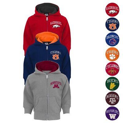 NCAA Team Logo Full Zip Team Logo Hoodie Collection Infant Toddler (12M-4T) ()