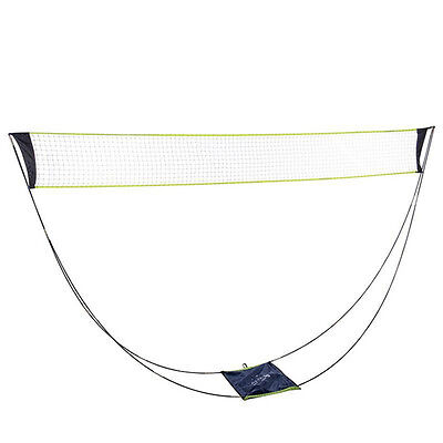 Portable Removable Badminton Net Set With Stand Carrying Bag Indoor Outdoor Game